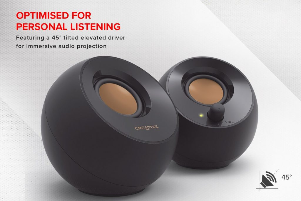 Creative Speakers For Music