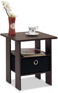 Corner table bedroom night stand